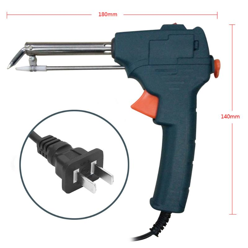 60W Auto Electric Soldering Iron Gun With FLUX 2/% 1.0mm Solder Wire Tin wire