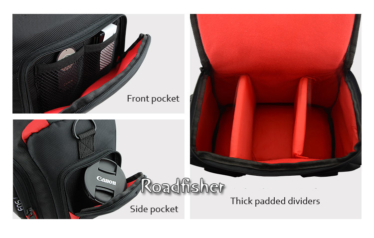 Camera shoulder bag for Canon EOS-4