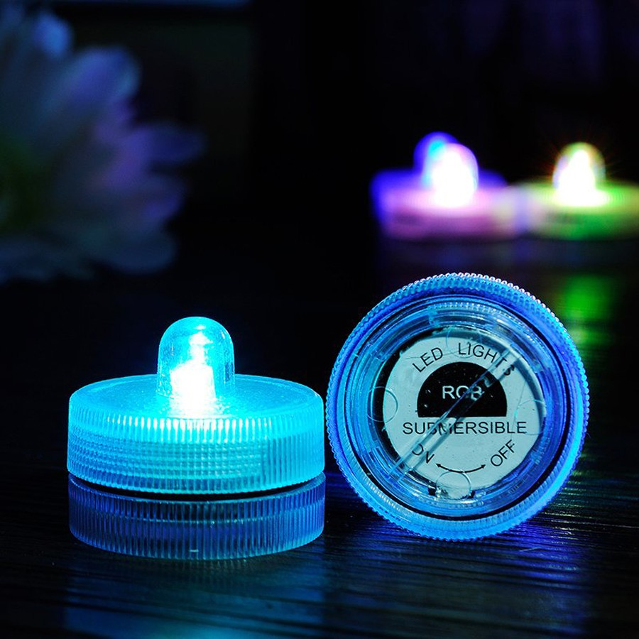 Waterproof Submersible LED Tea Light Electronic Candle Light (6)