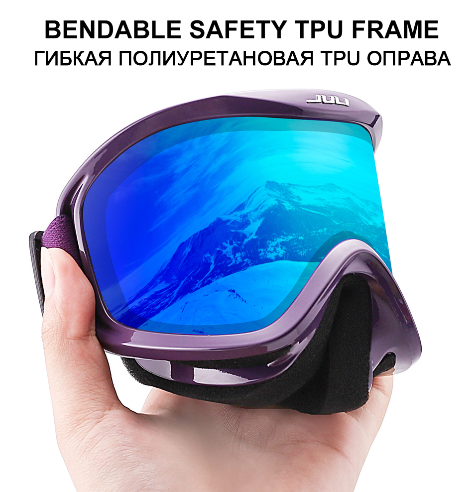 JULI ski goggles