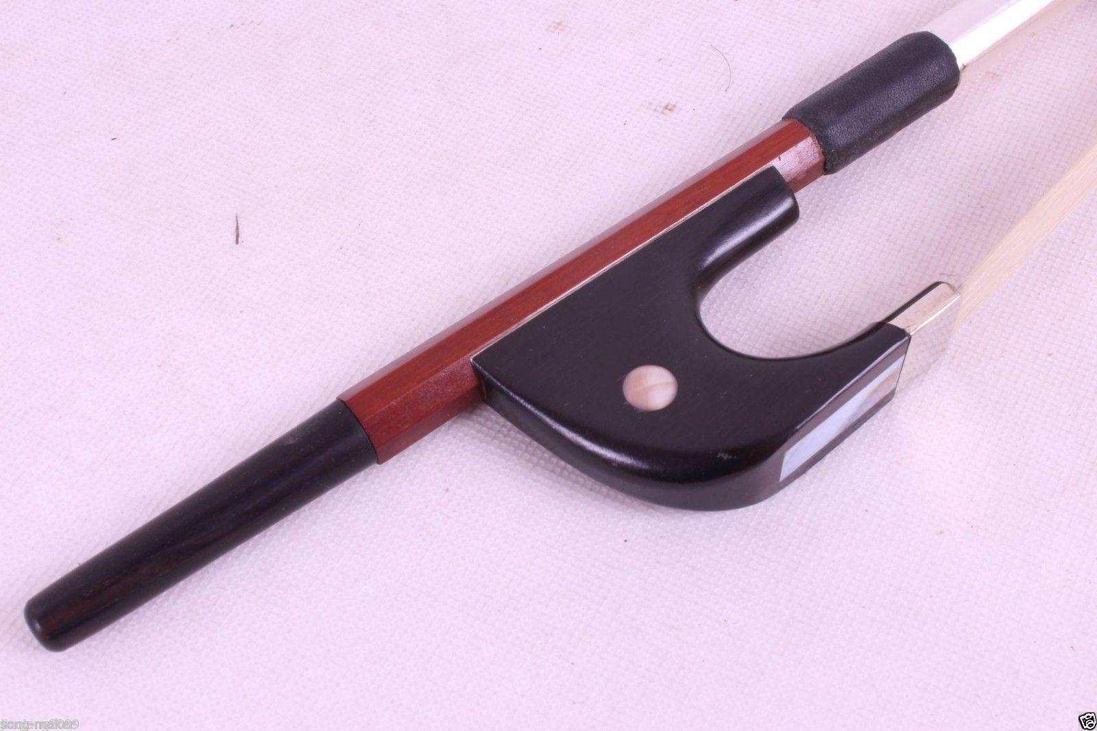 Schlangenholz Bogenfrosch mit Schraube für 4//4 3//4 Violin Zubehör