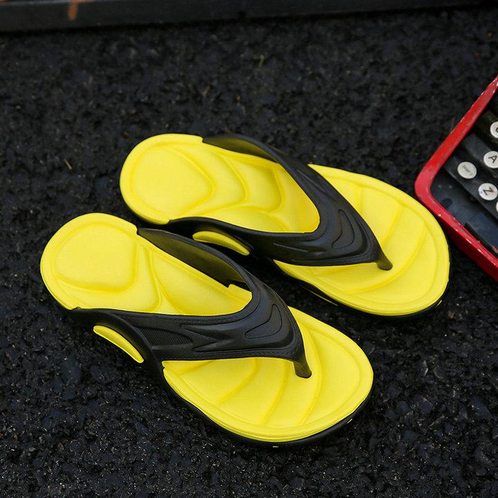 High Quality Quick Drying Soft Summer Sandals Beach Flip Flop Bath Skidproof Slider Casual Flat Eva Slipper (2)