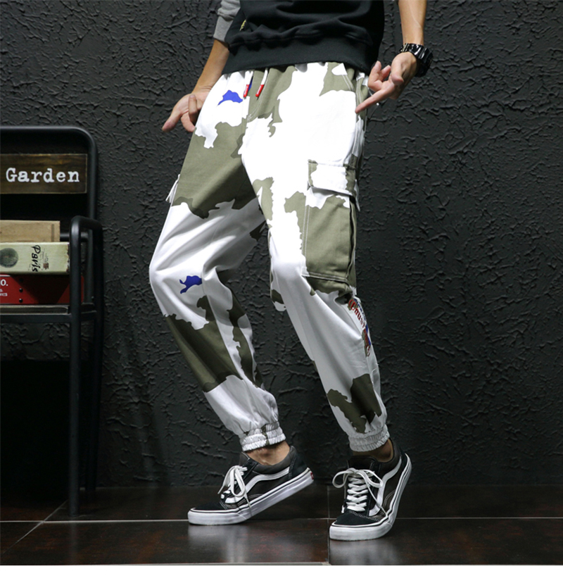 High Street Trousers Men Streetwear Pantalon Hombre Fashion (9)