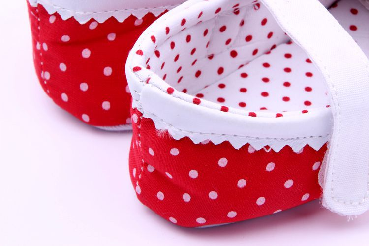Bébé Infant Enfants Fille Douce Semelle Berceau Enfant Nouveau-Né Chaussures 0-12 mois nouvelle livraison gratuite