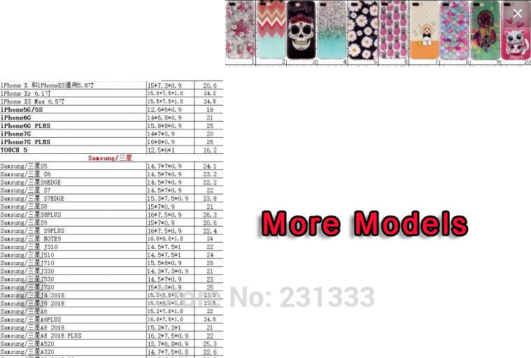 39259 6S 6+ 7G 7+ SE 5S XR XS MAX XXS T5 LG G7 XA2 TPU (4)1