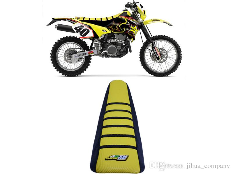 2019 2018 Non Slip Gripper Soft Motorcycle Seat Cover Yellow And Black For  Suzuki RM125 RM250 1996 1997 1998 1999 2000 Dirt Bike Seat Cover From