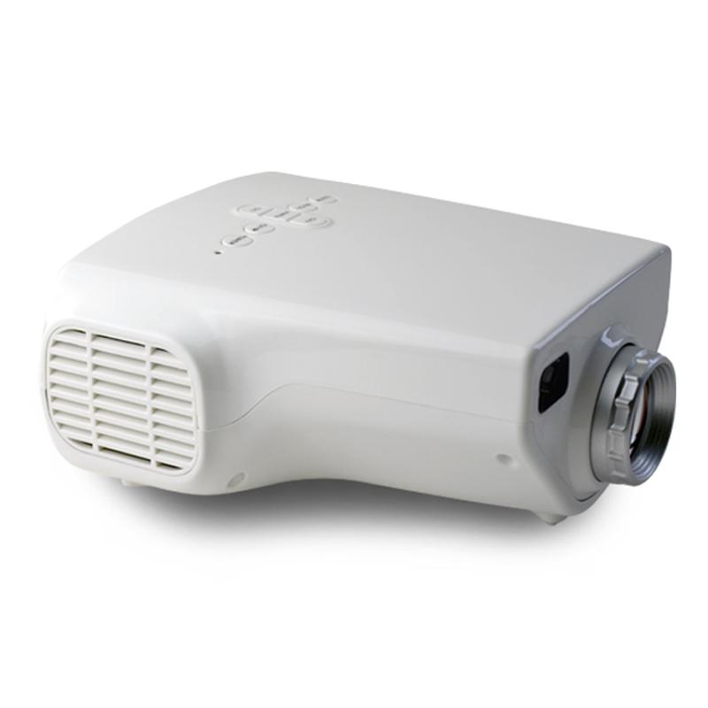 Mini Portable LED Projector 1080P Home Cinema Theater Support USB HDMI VGA TF Card Input LCD Projector for Games Video Party
