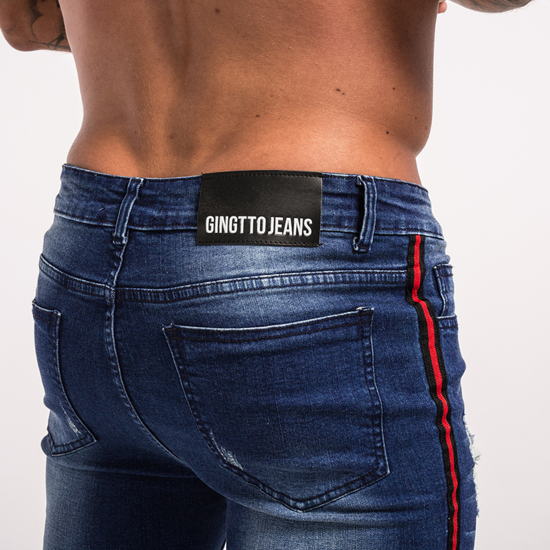 gingtto-mens-skinny-jeans-dark-blue-ripped-repaired-red-stripe-jeans-streetwear-zm21-2