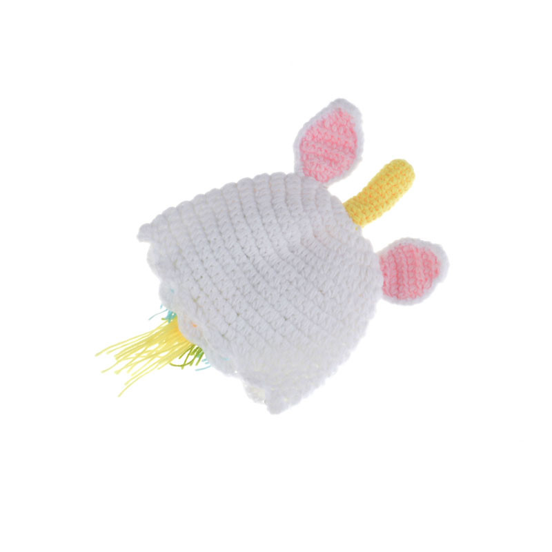 Newborn Baby Crochet Knit Costume Photo Photography Prop Hats Outfits Pony Hat Pants
