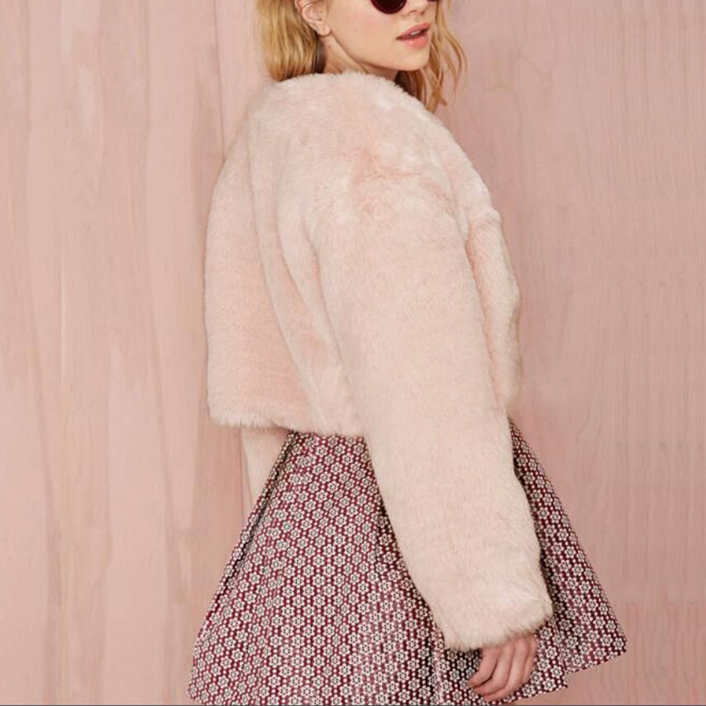 2018 Women Winter Warm Thick Coat Womens ladies Solid Overcoat Outercoat Jacket Cardigan Coat elegant lady streetwear female