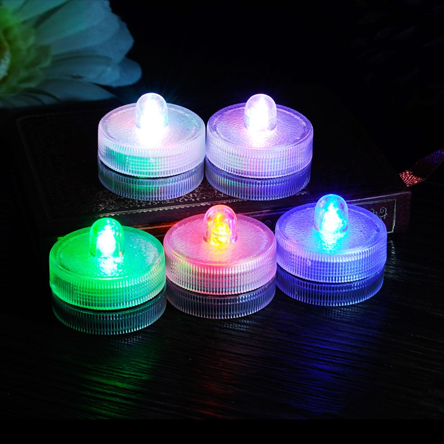 Waterproof Submersible LED Tea Light Electronic Candle Light