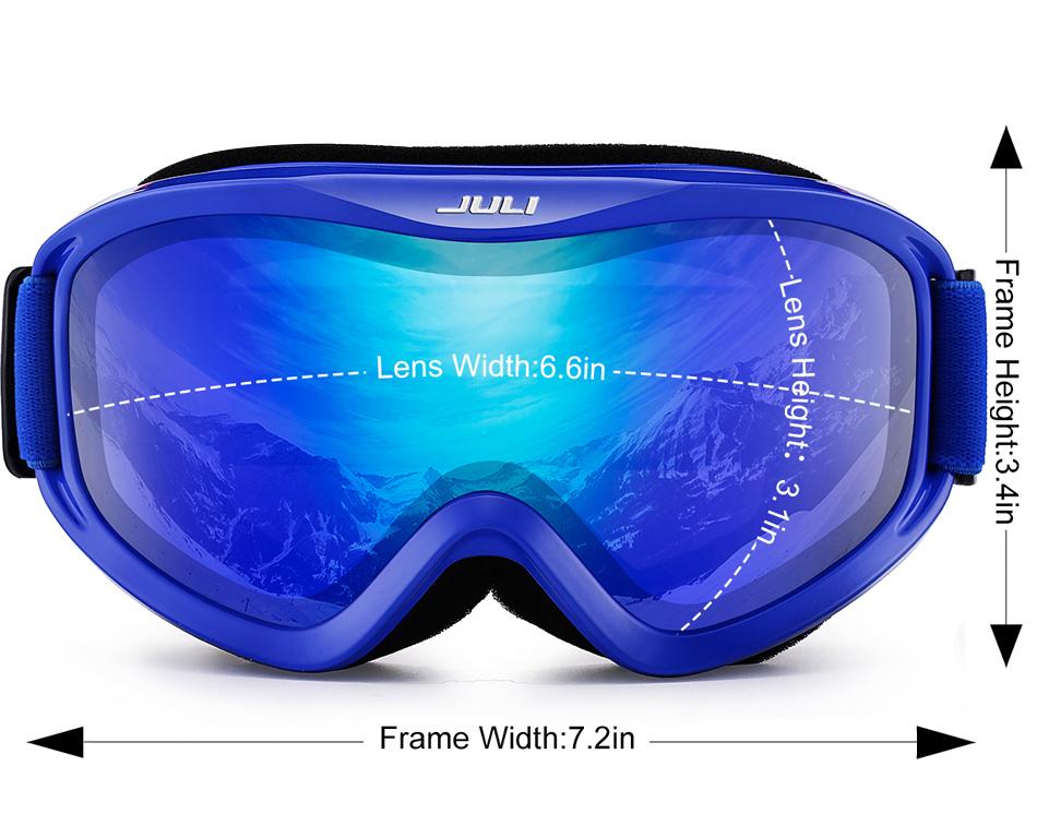 COPOZZ brand ski goggles