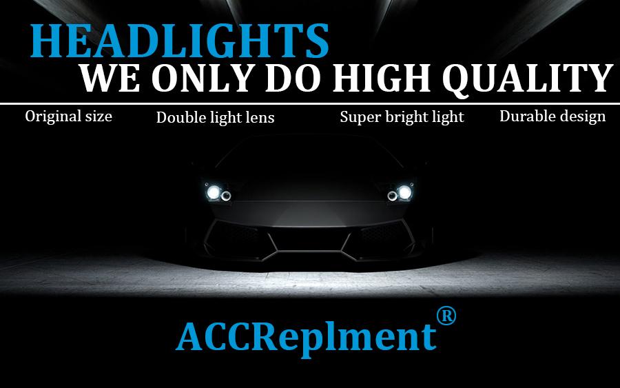 Led Headlights For Audi A6l 2012 2016 Led Car Lights Angel Eyes Xenon Hid  Kit Fog Lights Led Daytime Running Lights Rechargable Led Work Light