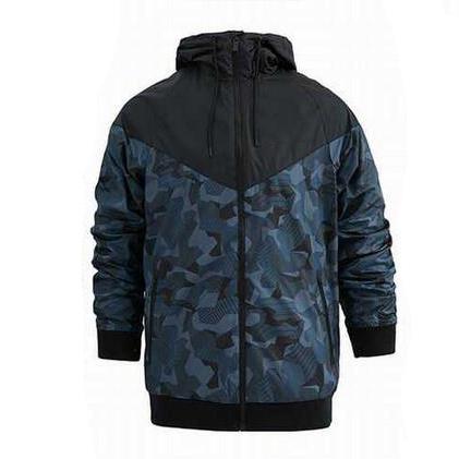 Yeni Tasarımcı Erkekler Ceketler Spor Rüzgarlık Fermuar Hoodies Mont Kamuflaj Baskı Toptan Giyim S-3XL 2-Colors