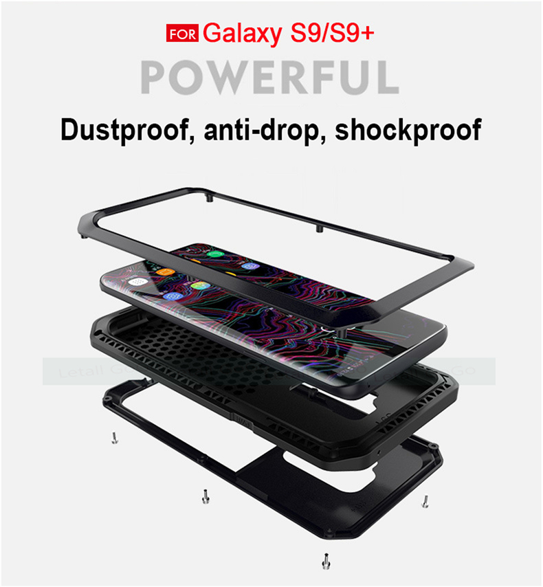 Samsung Galaxy S8 S9 Plus Note 8 9 shockproof phone cover case 4