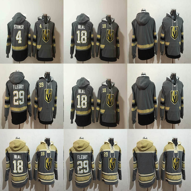 Clayton Stoner Vegas Golden Knights Hockey Hoodie Jersey