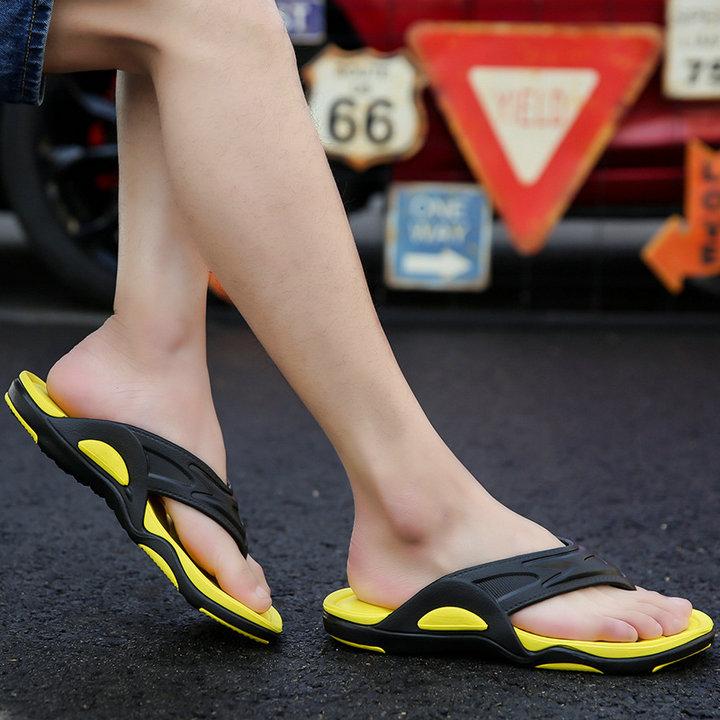 High Quality Quick Drying Soft Summer Sandals Beach Flip Flop Bath Skidproof Slider Casual Flat Eva Slipper (6)