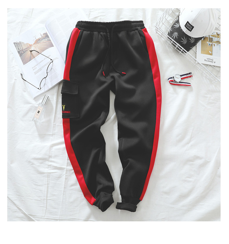 Joggers Parkour Mens Pants Loose Streetwear (13)
