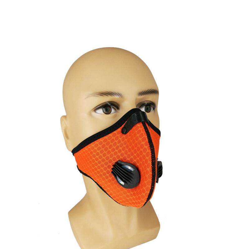 maschera bocca moto