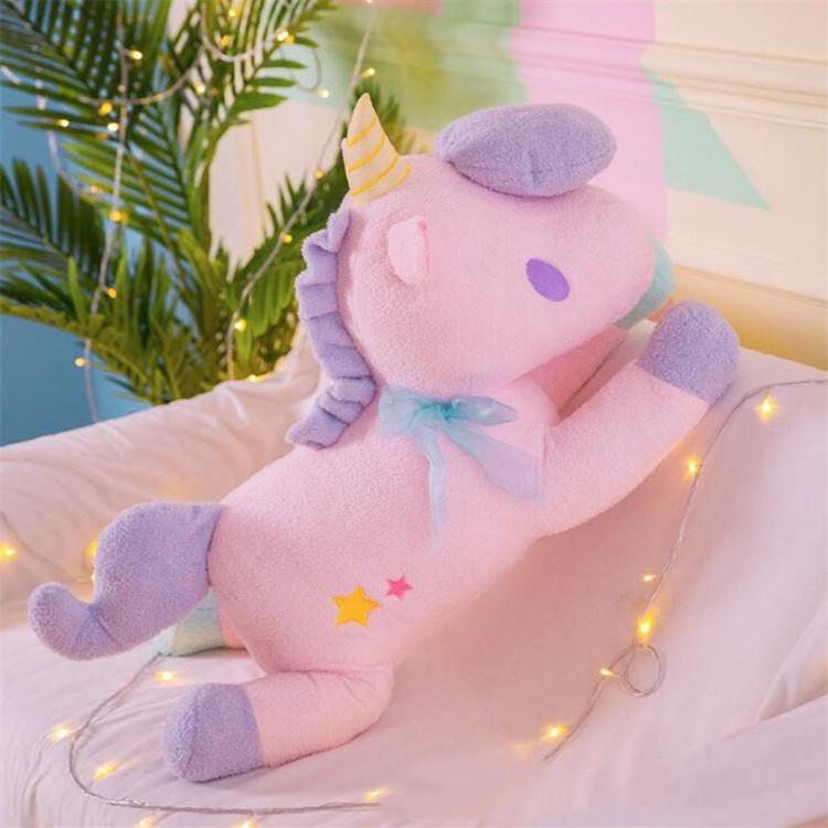 New Style Hot Sales Lovely Adorkable Unicorn Doll Plush Toys Unicorn Pillow Rag Doll Valentine Day Gift T7I726