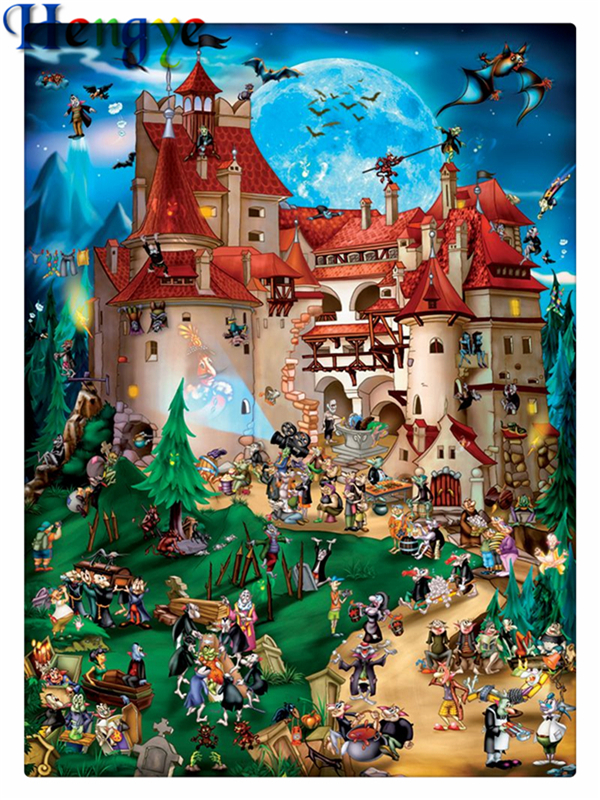 Unicorn Fairy Elf Fairytale 5D Diamond Painting Embroidery Cross Stitch DIY Kit