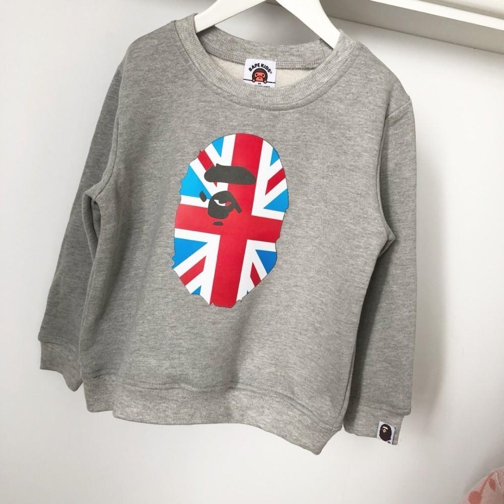 2018 Spring And Autumn Children\u0027S Boys And Girls Long Sleeve Round Neck  Turtleneck Sweater Banner Print Cute Fashion Children Dresses Sweater  Designs