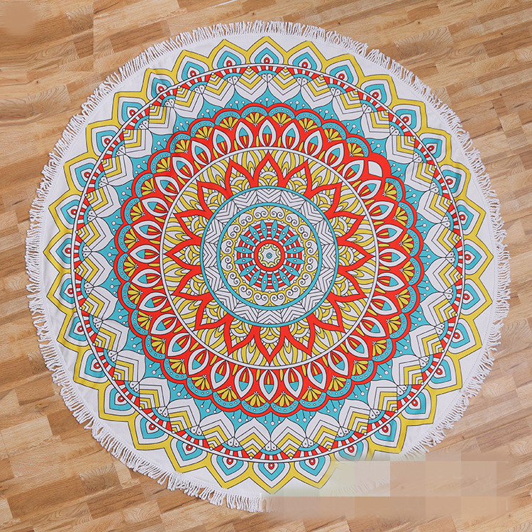 Round beach towel (24)