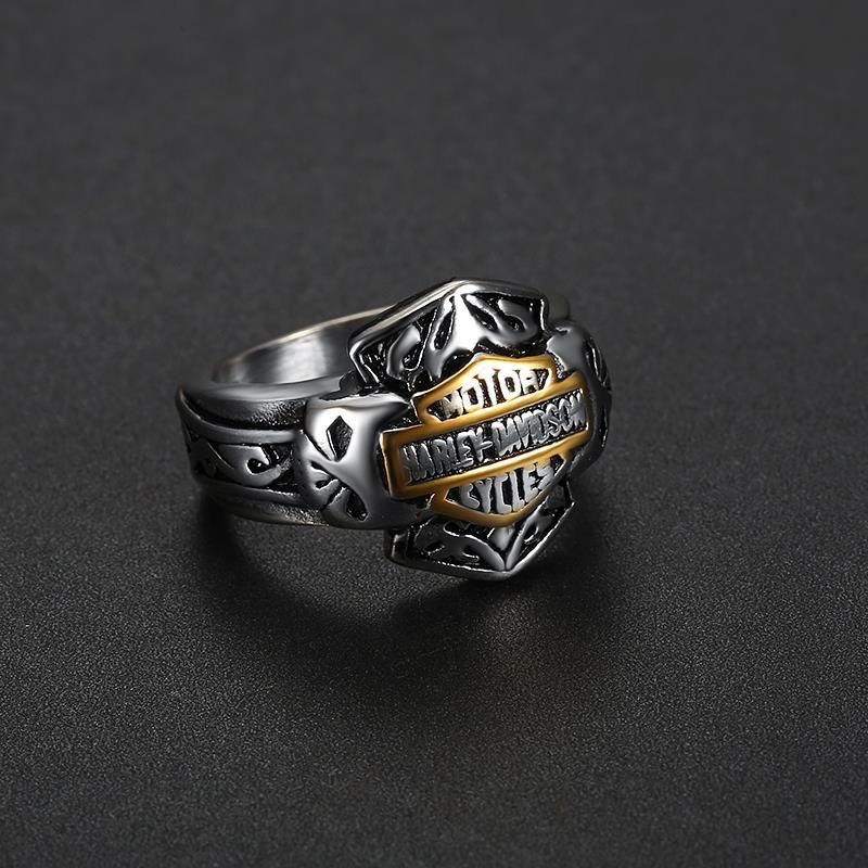 New Men/'s Vintage Maya Gothic Style Evil Eye Ring Stainless Steel