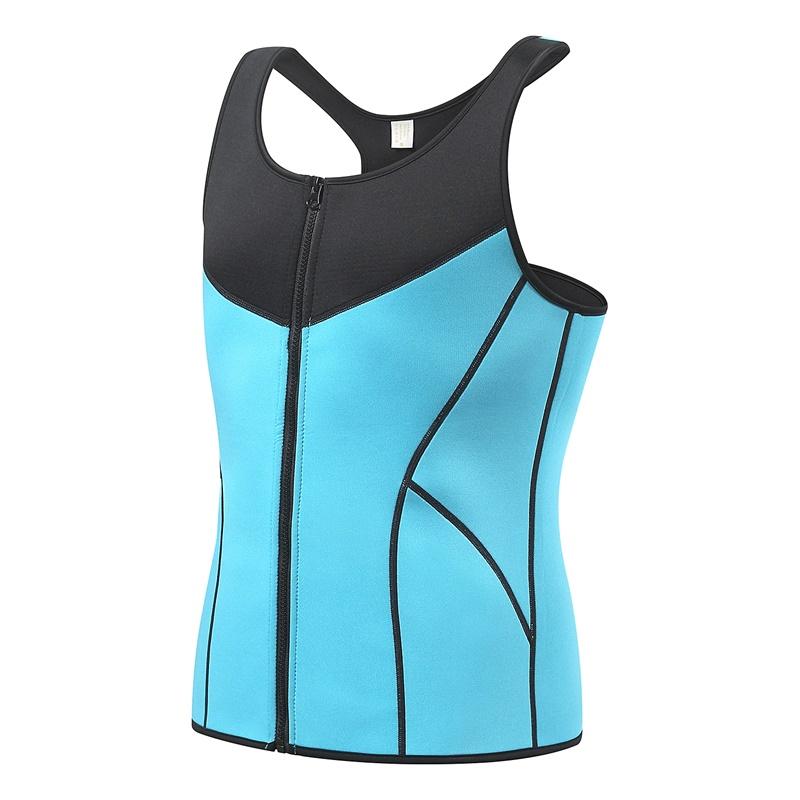 wholesale Corset Men Sauna Suits For Weight Loss Hot Sweat Sauna Body Shaper Abdomen Slimming Vest Waist Trainer Shapewear