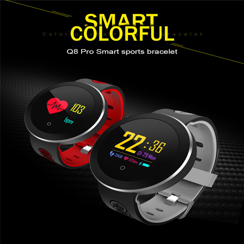 Fitness Tracker Band Smart Bracelet Waterproof Heart Rate Monitor Sport Wristband Watch Watch for Android IOS Phone