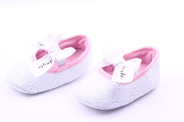 Fashion Bow tiebaby shoes first step neonatal soft soles baby bed shoes baby girl princess shoes