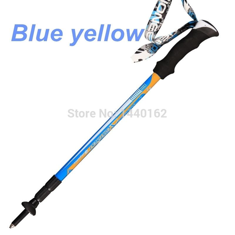 tp028 blue 1 Nordic walking sticks hiking sticks alpenstock walking cane Trekking poles mountain climbing sticks hiking pole.jpg