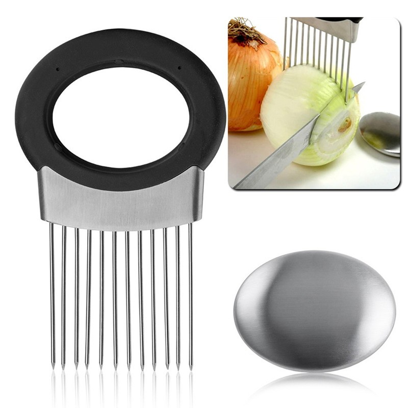 -Stainless-Steel-Onion-Holder-Slicer-Vegetable-Tomato-Cutter-Cooking-Tool-kitchen-accessories-Free-Shipping