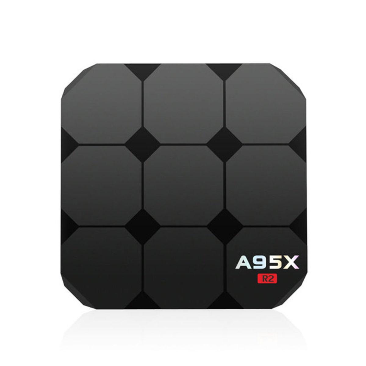 A95X R2 2GB 16GB Android 7.1 TV BOX S905W Quad Core UHD WiFi 4K Media Streaming