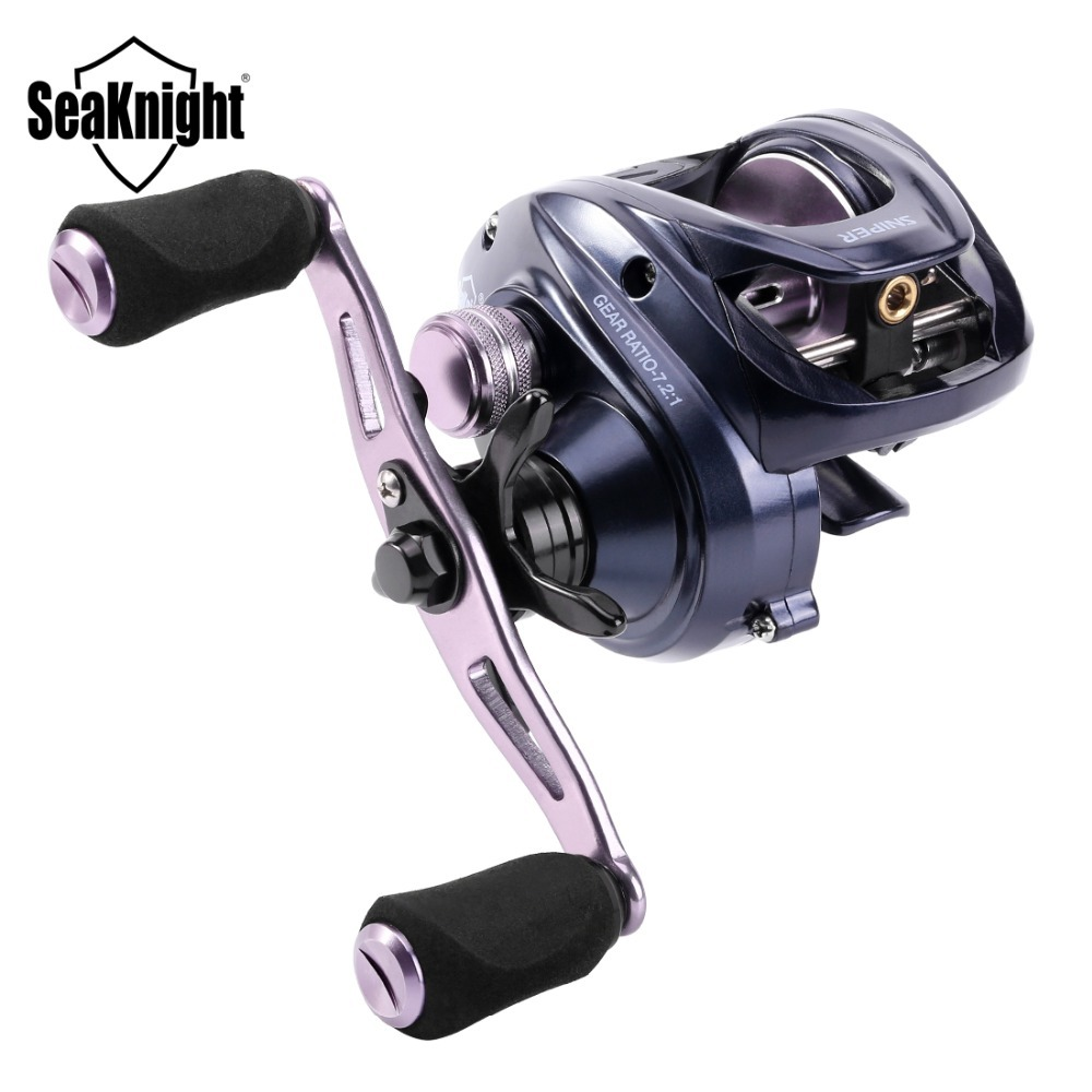 1BB 7.1 10 1 Kugellager Baitcaster Magnetbremse Angelrolle High Speed