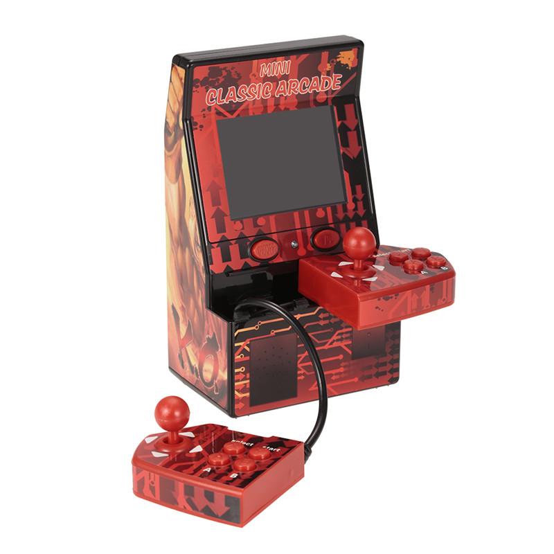 Nouvelle Mini Arcade Portable Machine Rétro Console De Jeu Vidéo De Poche 183 Classique Arcade Jeux 2,8 pouces LCD Mini Jeu Joueur avec Boîte Au Détail