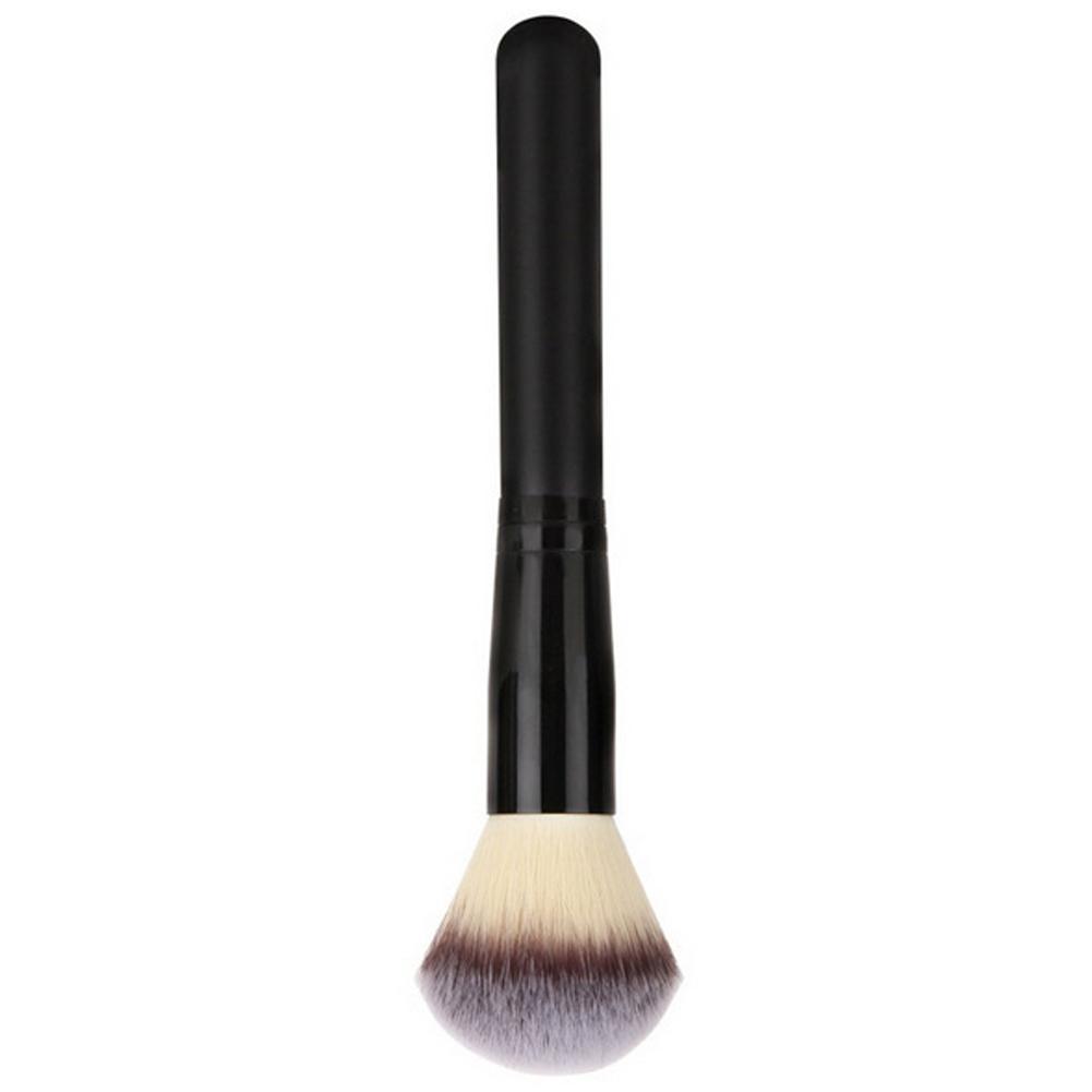 Foundation Brushes Soft Fiber Wood Handle Powder Blush Brushes Face Makeup Tool Pincel Maquiagem Facial Foundation Makeup Tool D18110902