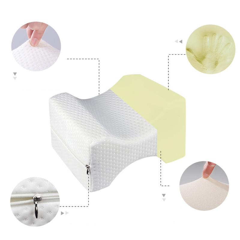Foam Memory Therapy Cushion Orthopedic Knee Travel Pillow Neck Nerve For Sciatic Pain Relief Body Sleeping Pillow