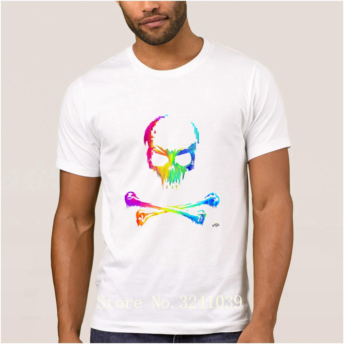 Compre La Maxpa De Punto Casual Pirata Del Arco Iris Camiseta Para ...