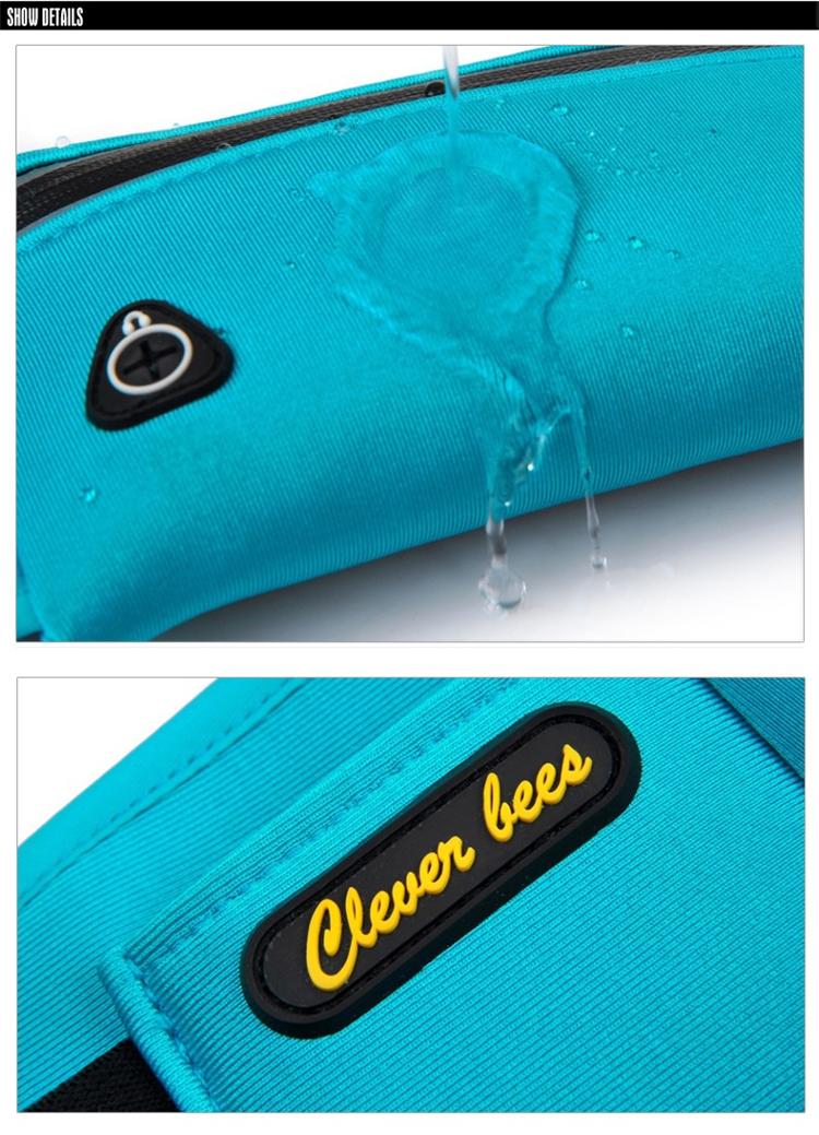 Unisex Waterproof Neoprene Belt Bags Waist Pack Bag Boys Belt Bum Bag_B8_19