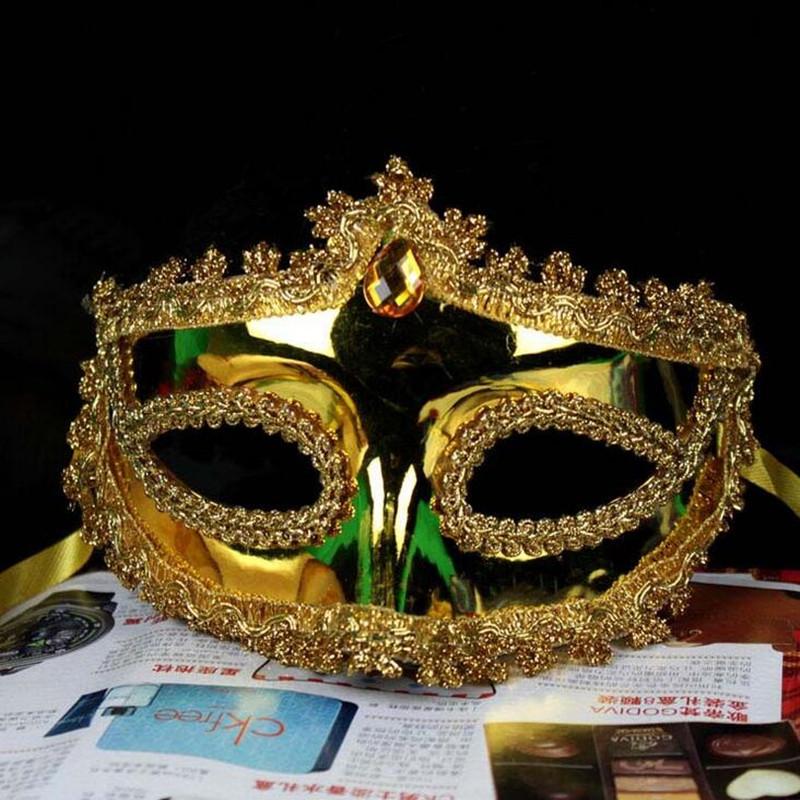 2018 New Lace Around Edge Mask Women Lady Performance Props Bar KTV Dress Ball Masks Halloween Dance Party Dress Decor