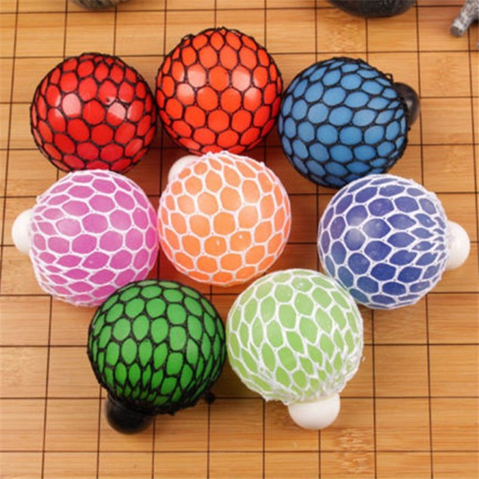 Fun Stress Reliever Toys,Stress Squeeze Ball Toy Stress Relief Silicone Tricky Toys Charm Gift for Women Men