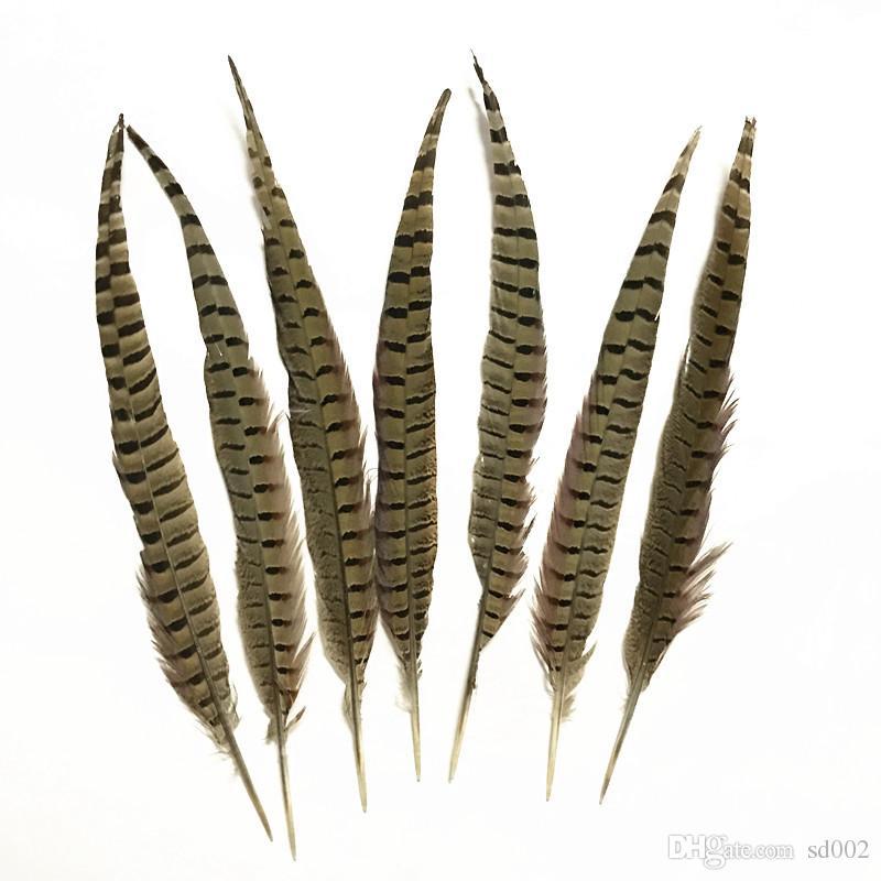 BULK 50pcs Natural Almond 4-10cm Pheasant Feathers DIY Craft Millinery Wedding