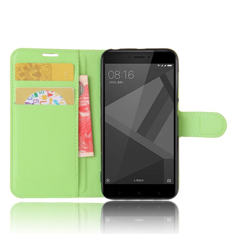 For Xiomi Xiaomi Redmi 4X Case 5.0 inch Wallet PU Leather Cover Phone Case For Xiaomi Redmi 4X 4 X Case Silicone Flip Back Bag (34)