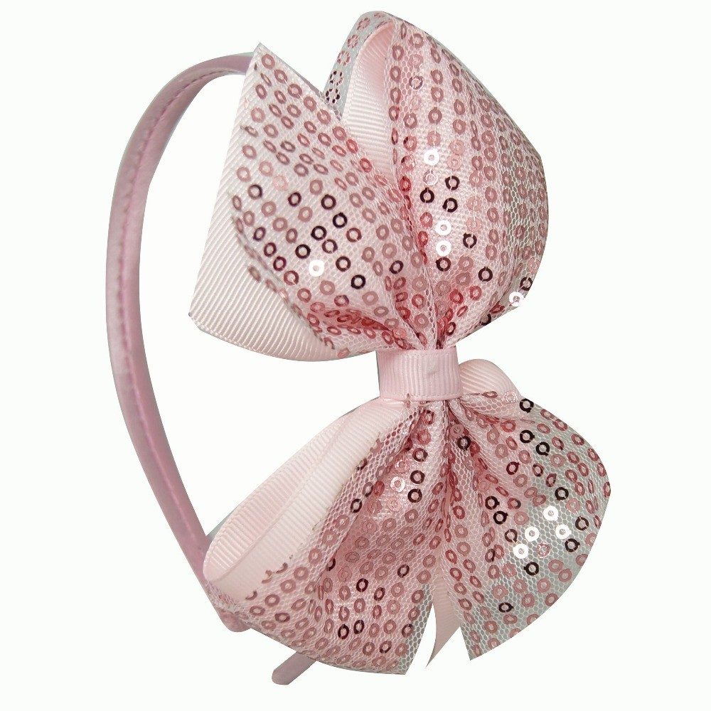 DIY-High-Quality-Cute-Hairbands-Sequin-Hair-Bow-For-Baby-Girls-Kids-Boutique-Fashion-Ribbon-Hair (3)