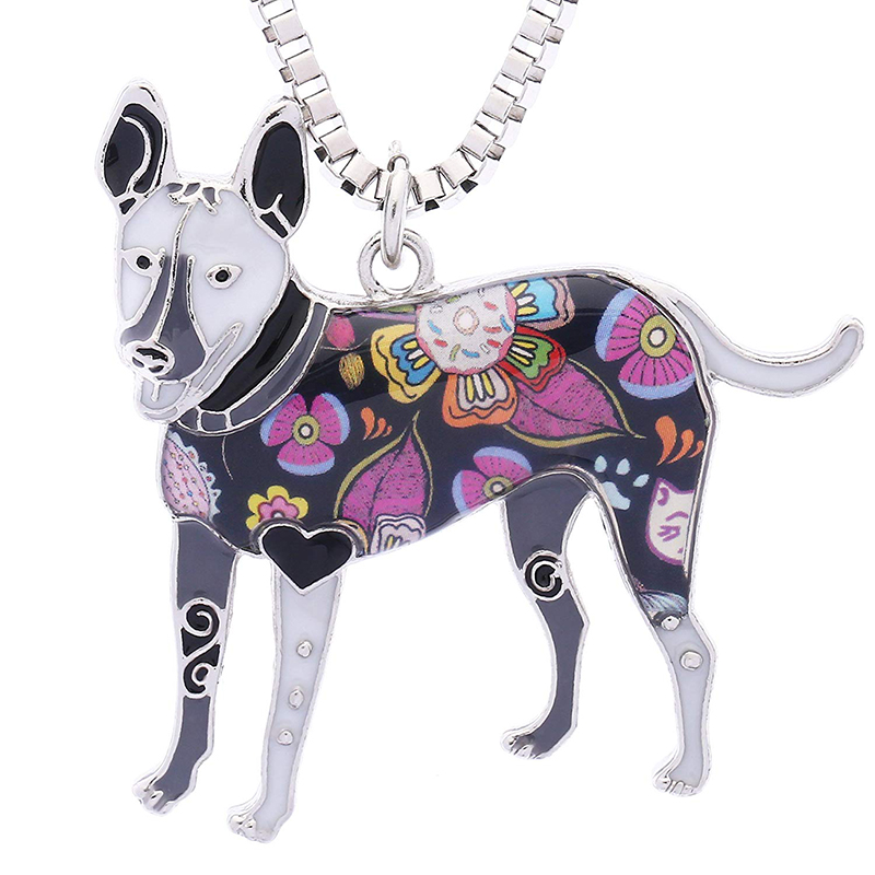 Carolina Dog Gifts Jewelry for Women Birthday Personalized Pets Lover Collection Necklace Used as Keychain