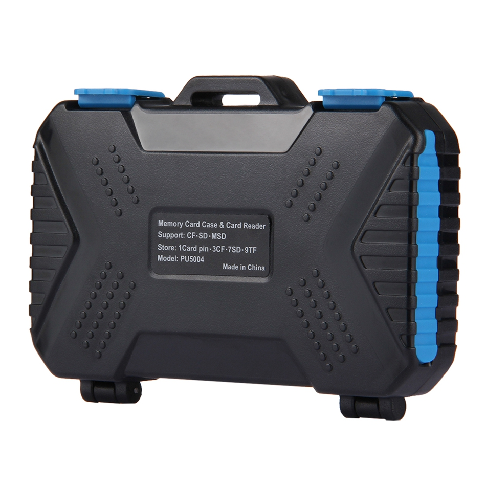venta al por mayor PU5004 22 en 1 caja de tarjeta de memoria USB 3.0 Reader para SIM estándar Micro-SIM Nano-SIM CF tarjeta TF SD Pin fotografía
