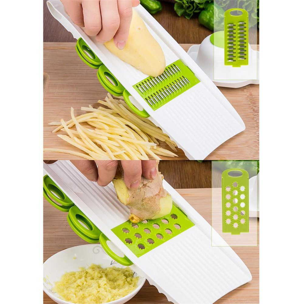 Mandoline Peeler Grater Vegetables Cutter tools with 5 Blade Carrot Grater Onion Vegetable Slicer Kitchen Accessories12
