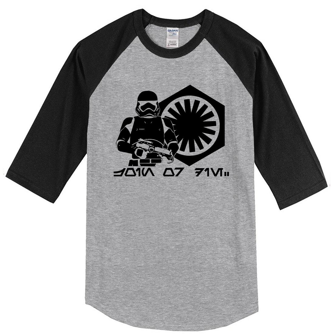 T-shirt uomo 2018 Primavera Estate New Fashion Three Quarter Sleeve T Shirt di marca uomo Harajuku Hip Hop Top Tshirt Uomo Casual