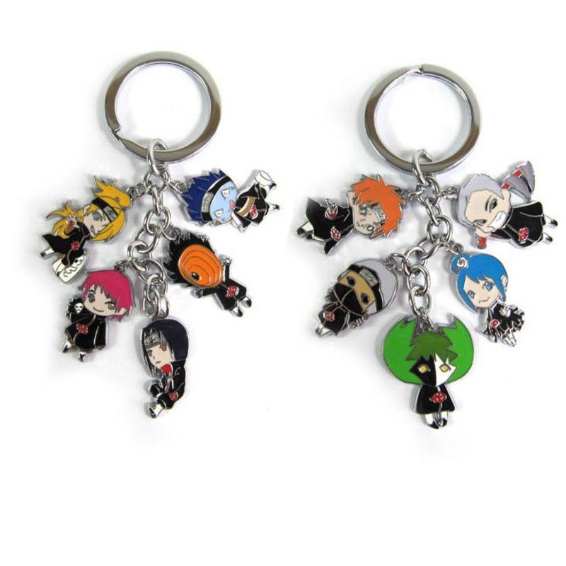 Naruto Uzumaki Namikaze Minato Key Chain Pendant Keychain Cosplay Charm Keyring